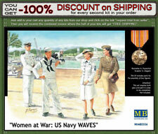 """Master Box 3556 """"Women at War: US Navy WAVES"""" WWII  Scale 1/35"""