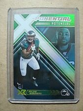 2019 Miles Sanders Panini XR Ponential Potential Rookie Emerald Green RC /5