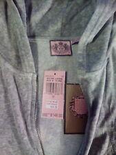Ladies Hoodie medium gray Sweats pants set 2 piece Juicy Couture retail $200 NOS
