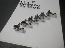 80's Washburn 18-1 Grover mini roto electric guitar tuners 6 in line tuning peg