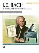 BACH WELL-TEMPERED CLAVIER, VOLUME 1 - PIANO SOLO SONGBOOK 2098C