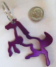 Key Chain - Horse - Aluminum - Ornament/Decor - New - Purple