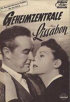 DNF   GEHEIMZENTRALE LISSABON   Ray Milland, Maureen O'Hara