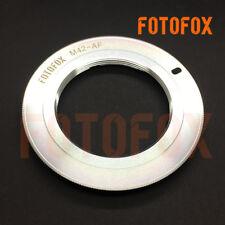 Carl Zeiss M42 Screw Mount Lens to Sony Minolta Alpha AF A Adapter A580 A77 A99