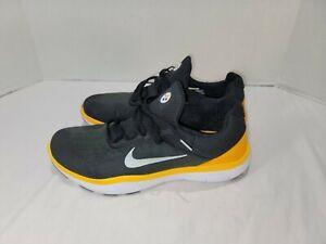 Nike Free Trainer V7 Pittsburgh Steelers Mens Shoes 13 Black AA1948-002