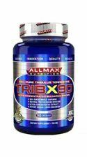 ALLMAX Nutrition Tribx90 100 Pure Tribulus Terrestris 2x Potency 750 MG 90 Capsules