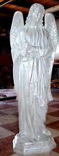 """STATUA ANGELO -Fiberglass MARMORIZZATO  Angel Statue cm. 130 - 52"""""""