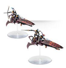 Warhammer 40K DARK ELDAR / AELDARI HARLEQUIN SKYWEAVERS Skimmers Jet Bikes, New