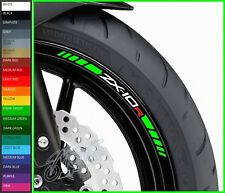 8 x ZX10R Wheel Rim Decals Stickers - 20 colors available - zx-10r 1000 zx-10 r
