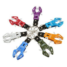 Durable Hook Chain Lock Clip Tools Keychain Carabiner Keyring