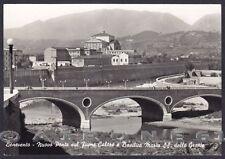 BENEVENTO CITTÀ 19 PONTE Fiume CALORE Cartolina FOTOGRAFICA viaggiata 1961