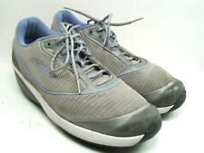 MBT Rockers Womens Toning Walking 400212 Purple Gray Shoes Size 10 1 2 86da123e785e
