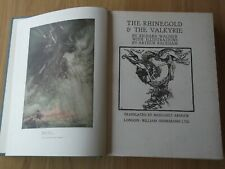 ARTHUR RACKHAM. RING OF THE NIBLUNG. RHINEGOLD. VALKYRIE. SIEGFRIED. 1939.