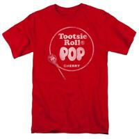 Tootsie Roll Blow Pop Cherry t-shirt retro 80's vintage candy graphic tee TR111