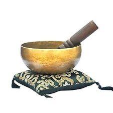 """6"""" Superb B Crown Chakra Old Tibetan Singing Bowl, Meditation bowls,Hand beaten"""