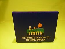 TINTIN HERGE SET OF PLAYING CARDS - BIJ KUIFJE IN DE AUTO - MINT IN BOX