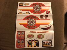 NEW~Genuine Little Tikes Replacement Decals~Cozy Coupe Ride & Rescue Fire Truck
