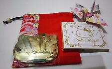New!2pcs. Hello Kitty Gold mirror and DAISO JAPAN purse.