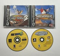 Playstation 1 Tony Hawk's Pro Skater 2 & Pro Skater 3 (no back art)  PS1
