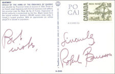 ROBERT BOURASSA (CANADA) - PICTURE POST CARD SIGNED