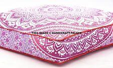 Extra Large Pet Mat Dog Bed Ombre Mandala Indian Cushion Pillow Mattress Ottoman