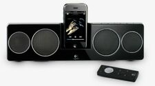 Logitech Pure-Fi Anywhere Compact Docking Speakers for 30-pin iPod iPhone NEW