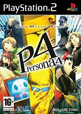 PS2 Shin Megami Tensei Persona 4 inclus Soundtrack Jeu Sony Playstation 2