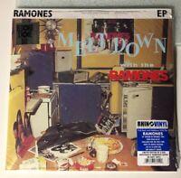 """Meltdown With The Ramones"" 10inch Navy Vinyl Record RSD LTD,Punk,Rock,RSD,NM"