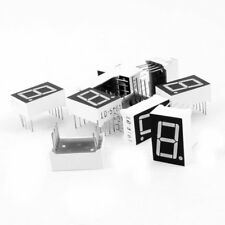 "10 Pcs Common Cathode 10-Pin 1 Bit 7 Segment 0.56"" Red LED Display Digital R4P6"