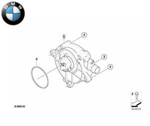Original BMW Bomba de Vacío 1er 3er 5er 11667547024