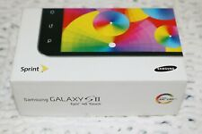 Samsung Galaxy S2 II Epic 4G Touch Sprint - Box Only No Phone or Manuals