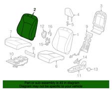 Rear Honda Genuine 82131-TT1-A01ZA Seat Cushion Trim Cover