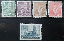 Denmark Scott #252-256 Set, Mint Original Gum (LH-NH)