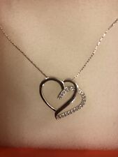 silver jewelry Company. Brand New. Sterling Silver Heart Necklace By Magnolia