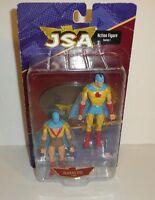 JSA Action Figures Series 1 - Golden Age Atom 2 Pack Set DC Direct Comics Sealed
