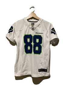 NFL Seattle Seahawks #88 Jimmy Graham Women's Jersey Shirt Size Medium