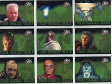 Star Trek Cinema 2000 The Dark Side  9  Card Chase Set    1 to 9 DS