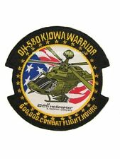 OH-58D Kiowa Warrior 600,000 Combat Flight Army Aviation Bell Helicopter Patch