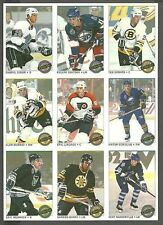 1992-93 O-Pee-Chee Premier Uncut Panel of 9, Eric Lindros