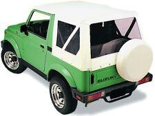 Ersatzverdeck weiss Suzuki Samurai SJ 410 413 Softtop Verdeck white bianco top