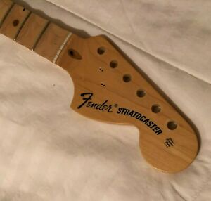 2015 Fender American Special Stratocaster Neck, 22 Jumbo Frets - Maple Scalloped