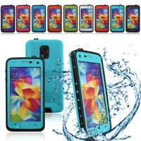 For Samsung Galaxy S5 i9600 Swimming Waterproof Shockproof Phone Cover Case