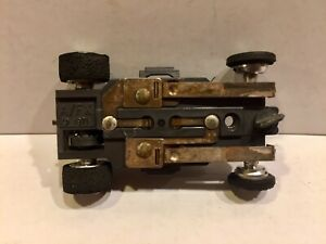 rare DATED 1971 Aurora AFX slot car Running NON Magna-Traction CHASSIS ONLY