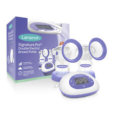 Lansinoh Signature Pro Portable Double Electric Breast Pump New + Free Shipping