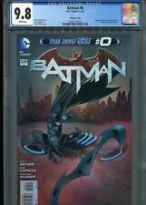 Batman #0 New 52 (Variant cover)  CGC 9.8  White Pages
