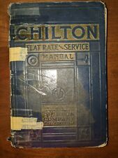 1941 Chilton Flat Rate And Service Manual Vintage