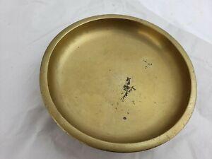 Great heavy bronze incense burner / plate, vintage, Korea