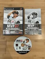 MVP 07 NCAA Baseball (Sony PlayStation 2, 2006) PS2 Complete Game - Ships Fast