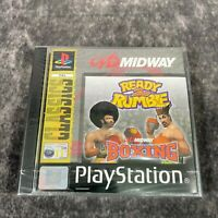 Ready 2 Rumble Boxing PS1 PlayStation 1 PAL Game NEW Sealed Midway Classics