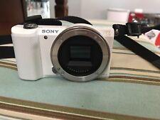 Sony Alpha a5000 20.1MP E Mount ILCE Digital Camera - White (No Lens) -Near Mint